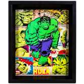 Hulk Lenticular Framed Wall Decor